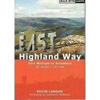 Luath Press East Highland Way Wandelgids