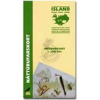 Mal Og Menning Vegetatiekaart IJsland 1:500.000