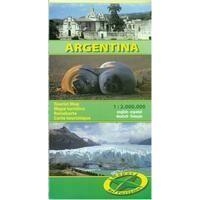 Mapas Turismo Wegenkaart Argentinië