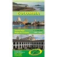 Mapas Turismo Toeristische Kaart Colombia 1:1.500.000