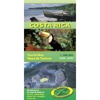 Mapas Turismo Wegenkaart Costa Rica 1:500.000
