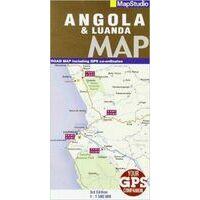 Mapstudio Wegenkaart Angola