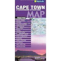 Mapstudio Kaapstad & Omgeving Kaart