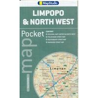 Mapstudio Limpopo & Northwest Pocket Map