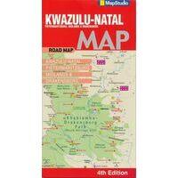 Mapstudio Wegenkaart Kwazulu-Natal 1:250.000