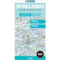 Mapstudio Winelands Of The Western Cape