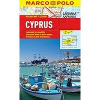 Marco Polo Wegenkaart Cyprus Holiday Map