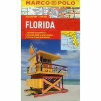 Marco Polo Wegenkaart Florida Holiday Map