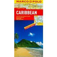 Marco Polo Landkaart Caribisch Gebied
