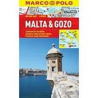 Marco Polo Wegenkaart Malta En Gozo Holiday Map