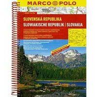 Marco Polo Wegenatlas Slowakije