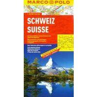 Marco Polo Wegenkaart Zwitserland