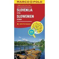 Marco Polo Wegenkaart Slovenië En Noord-Kroatië