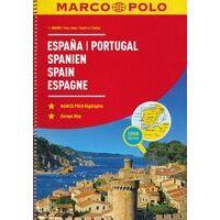 Marco Polo Wegenatlas Spanje - Portugal
