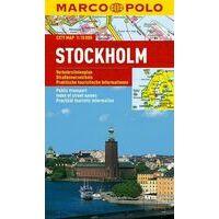 Marco Polo Stadsplattegrond Stockholm