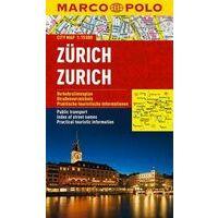 Marco Polo Stadsplattegrond Zürich