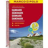 Marco Polo Wegenatlas Denemarken