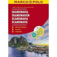 Marco Polo Wegenatlas Scandinavië