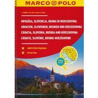 Marco Polo Wegenatlas Slovenië, Kroatië En Bosnië-Herzegovina