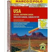 Marco Polo Wegenatlas Verenigde Staten