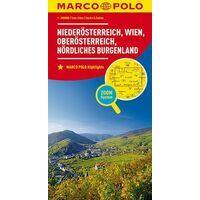 Marco Polo Wegenkaart 01 Neder-Oostenrijk