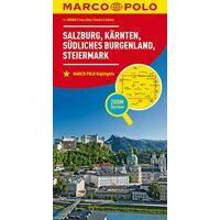 Marco Polo Wegenkaart 02 Salzburg, Karinthië, Steiermarken
