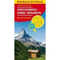 Marco Polo Wegenkaart 02 Zwitserland West