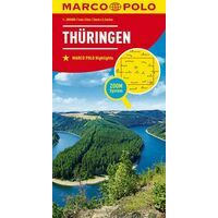 Marco Polo Wegenkaart 07 Thüringen