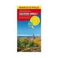 Marco Polo Wegenkaart 08 Saksen-Anhalt