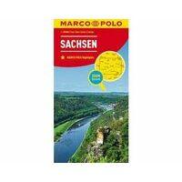 Marco Polo Wegenkaart 09 Sachsen - Saksen