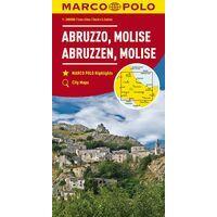 Marco Polo Wegenkaart 10 Abruzzen - Molise