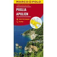 Marco Polo Wegenkaart 11 Puglia Apulië