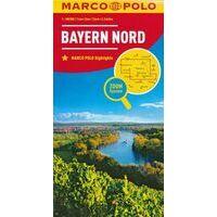 Marco Polo Wegenkaart 12 Noord-Beieren