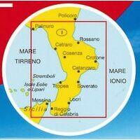 Marco Polo Wegenkaart 13 Calabria Calabrië