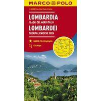 Marco Polo Wegenkaart 2 Lombardije - Italiaanse Meren