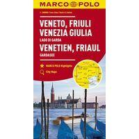 Marco Polo Wegenkaart 4 Venetië - Friuli - Veneto