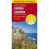 Marco Polo Wegenkaart 5 Ligurië