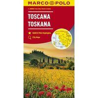 Marco Polo Wegenkaart 7 Toscane