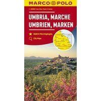 Marco Polo Wegenkaart 8 Umbrië - Marken