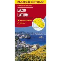 Marco Polo Wegenkaart 9 Latium Lazio Rome