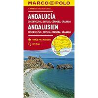 Marco Polo Wegenkaart Andalusië