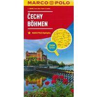 Marco Polo Wegenkaart Bohemen
