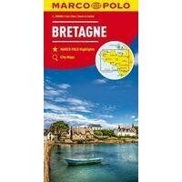 Marco Polo Wegenkaart Bretagne