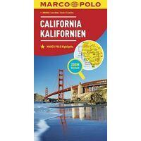 Marco Polo Wegenkaart Californië