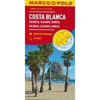 Marco Polo Wegenkaart Costa Blanca - Valencia - Granada