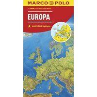 Marco Polo Wegenkaart Europa