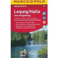 Marco Polo Wegenkaart FZK 19 Leipzig/Halle