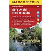 Marco Polo Wegenkaart FZK 20 Spreewald Niederlausitz