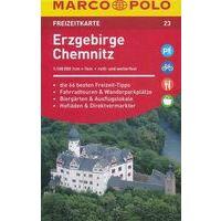 Marco Polo Wegenkaart FZK 23 Erzgebirge Chemnitz