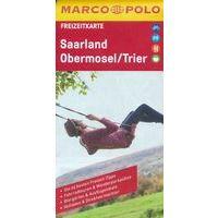 Marco Polo Wegenkaart FZK 30 Saarland - Obermosel - Trier